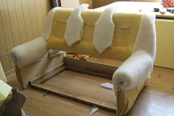 Как сделать мягкий мебель